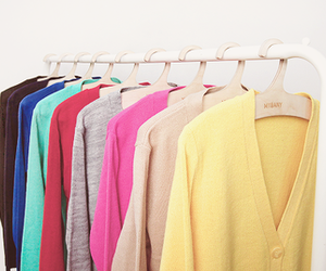 beautiful, cardigans, and clothes image