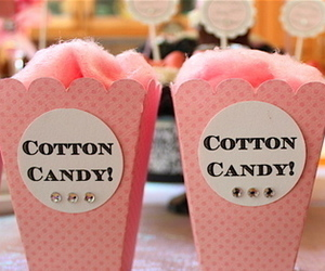 pink, cotton candy, and candy image