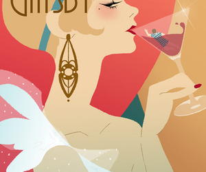 the great gatsby, book, and gatsby image
