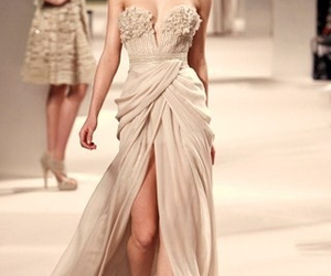 draping, fashion, and elie saab image