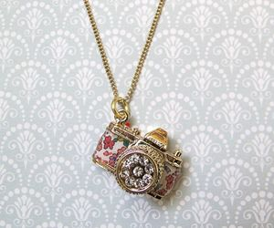 camera, fashion, and necklace image