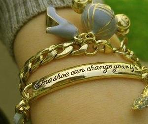 bracelet, cinderella, and shoes image
