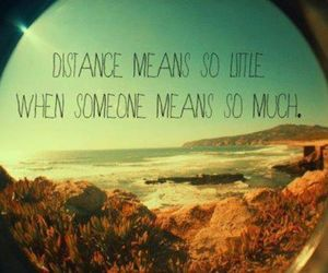 distance, quote, and little image
