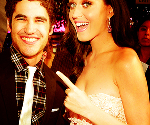 katy perry, darren criss, and glee image