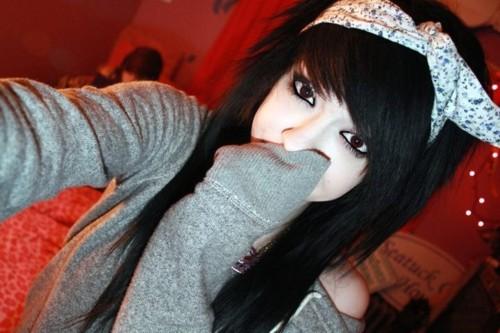 Apologise, but, emo girls with black hair tumblr apologise