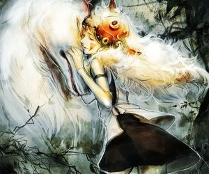 princess mononoke and ghibli image