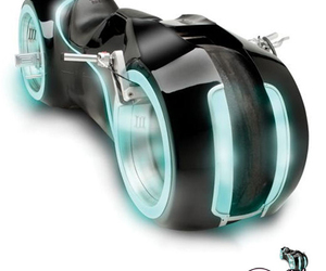 awesome, light cycle, and motorcycles image