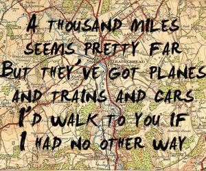 quote, map, and Lyrics image