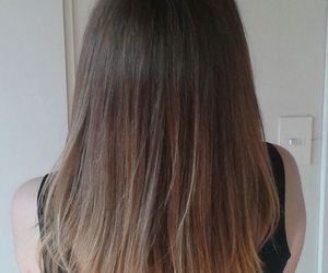 ombre, ombrehair, and haircolour image