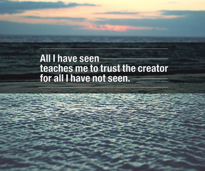 god, trust, and allah image