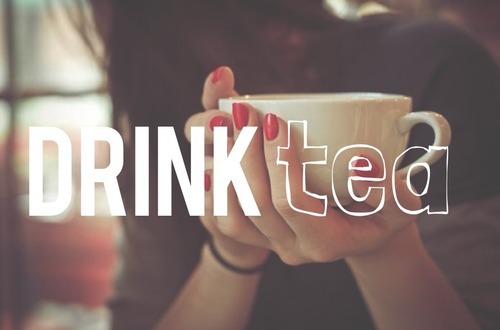 tea, drink, and healthy image