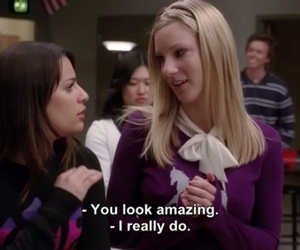 brittany, glee, and subtitles image