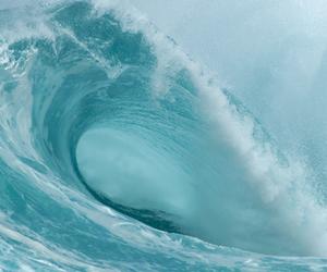 waves, sea, and ocean image