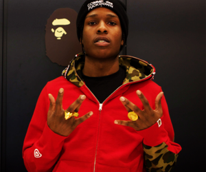 fashion, asap rocky, and rapper image
