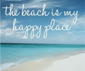 beach, happy, and love image