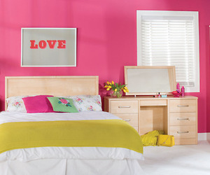 pink, room ideas, and love image