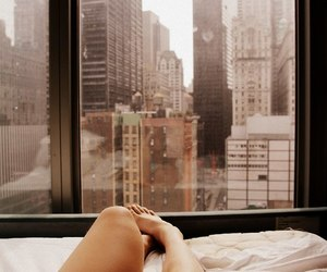 morning, city, and feet image