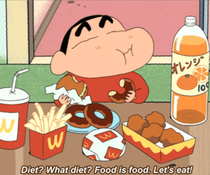 food, diet, and funny image