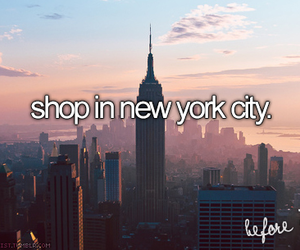 shop, new york, and nyc image