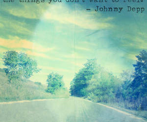 johnny depp, life, and road image