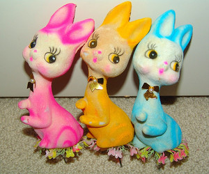 1960s, bunny, and dolls image