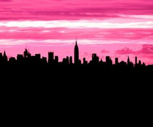 city, clouds, and new york image