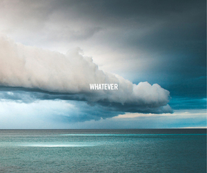 whatever, blue, and clouds image