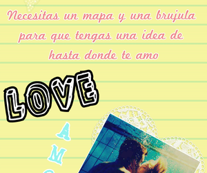 amor, Collage, and frases image