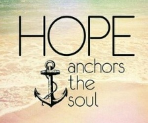 hope, anchor, and soul image