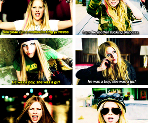 Avril Lavigne, Avril, and girlfriend image
