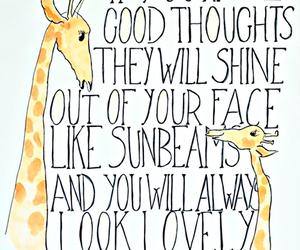 quotes, giraffe, and Roald Dahl image