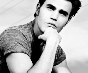 paul wesley, stefan salvatore, and sexy image
