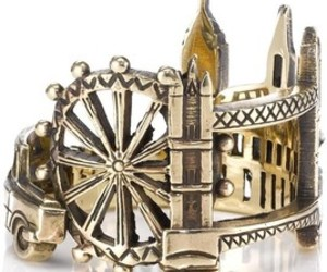 gold, jewerly, and london image