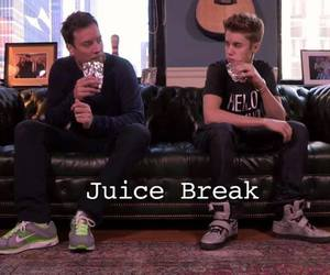 juice and justin bieber image