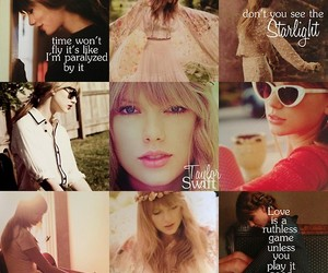 Taylor Swift, red, and swifties image