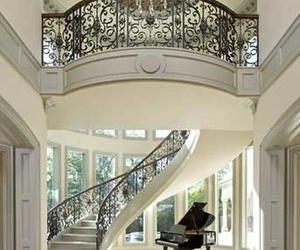 interior, piano, and home image