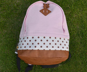 backpack, print, and sweet image