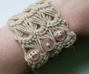bracelet, crochet, and can image
