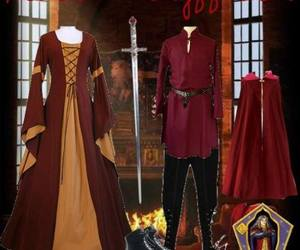 clothes, gryffindor, and harry potter image