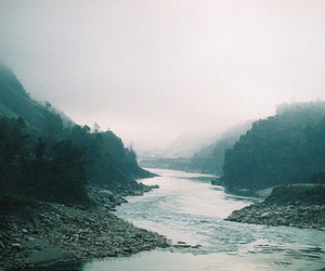landscape, nature, and river image