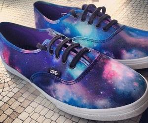 galaxy, shoes, and sneakers image