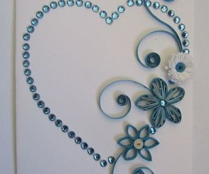 quilling and delicate impression image