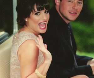 couple, glee, and friends image