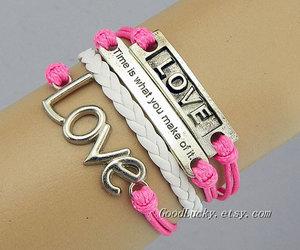 bracelets, charm bracelet, and fashion image