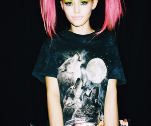 doll, dyed hair, and girl image