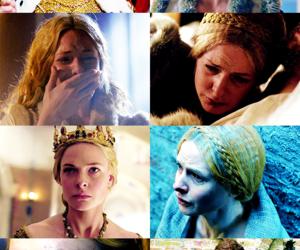 Elizabeth, the white queen, and rebecca ferguson image