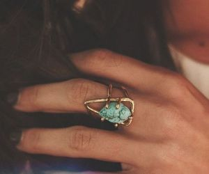ring, fashion, and nails image