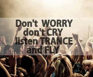 trance, worry, and love image