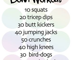 fitness and workout image