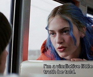 eternal sunshine of the spotless mind, movie, and bitch image
